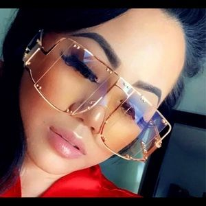 Pinky Sun Glasses